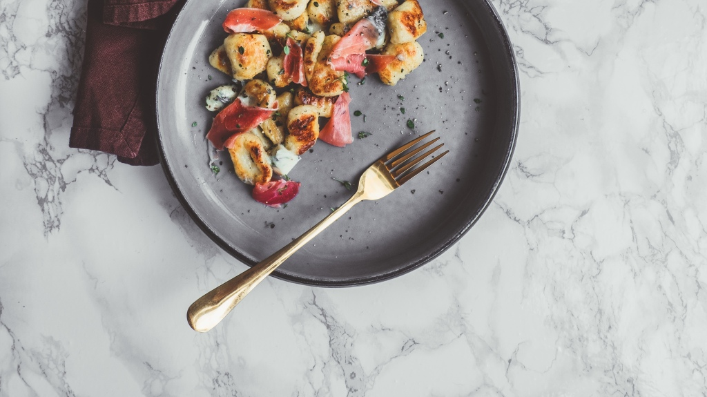Gnocchi with Gorgonzola and Prosciutto - Recipe - Food Blog