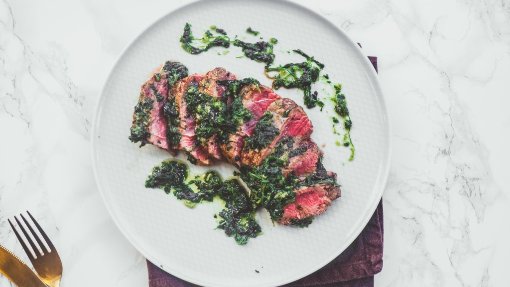 Steak & Chimichurri Recipe - Food Blog