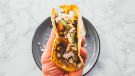 Butternut Squash and Feta Tacos - Recipe - Food Blog