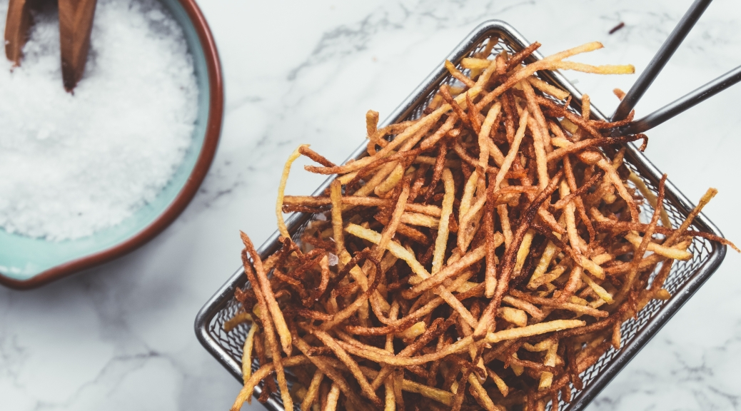Shoestring Fries - Recipe - Food Blog